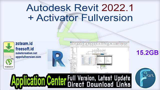 Autodesk Revit 2022.1 + Activator Fullversion