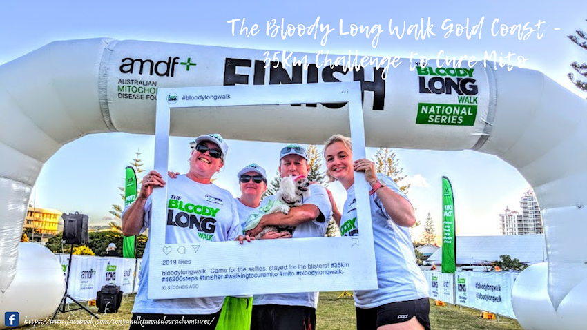 Volunteering At The Bloody Long Walk Gold Coast 35Km Challenge to Cure Mito