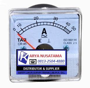 Jual Tab Analog Ampere Meter Direct TAB 0 - 50 A di Tasik