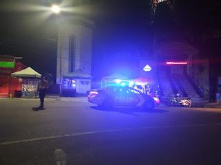 Ciptakan Kamtibmas Kondusif, Polsek Enrekang Tingkatkan Patroli di Malam Hari