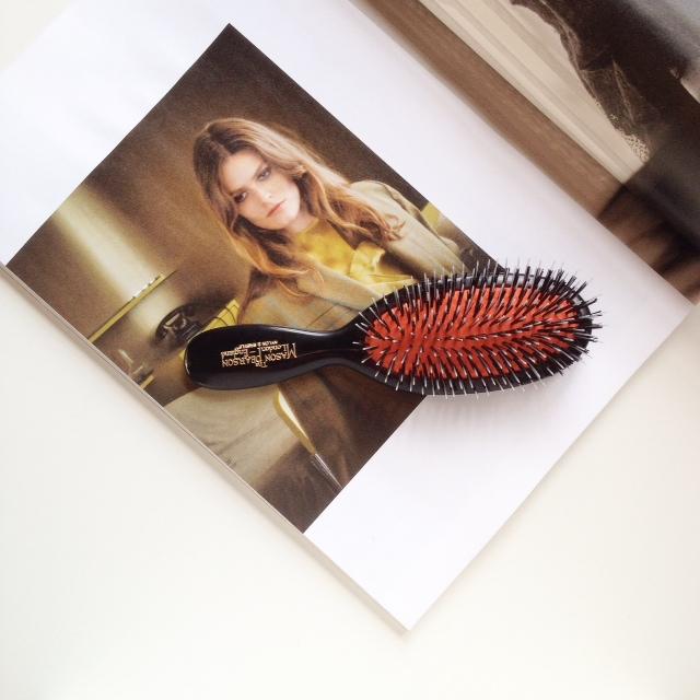 Mason Pearson Bristle & Nylon Pocket Brush