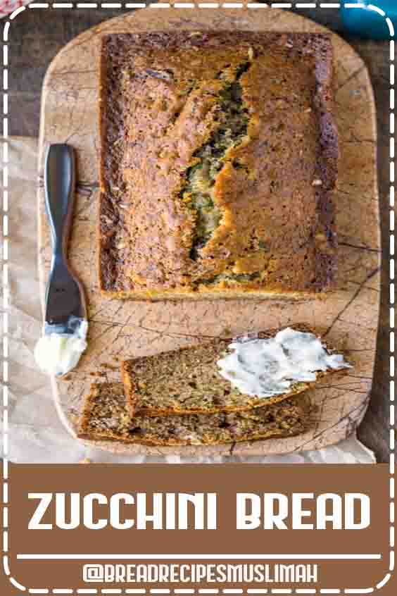BEST zucchini bread recipe!  #Bread #Recipes #easy #loaf