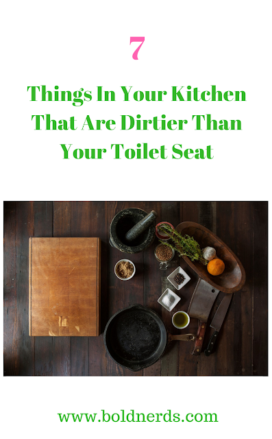 7 Things In Your Kitchen That Are Dirtier Than Your Toilet Seat
