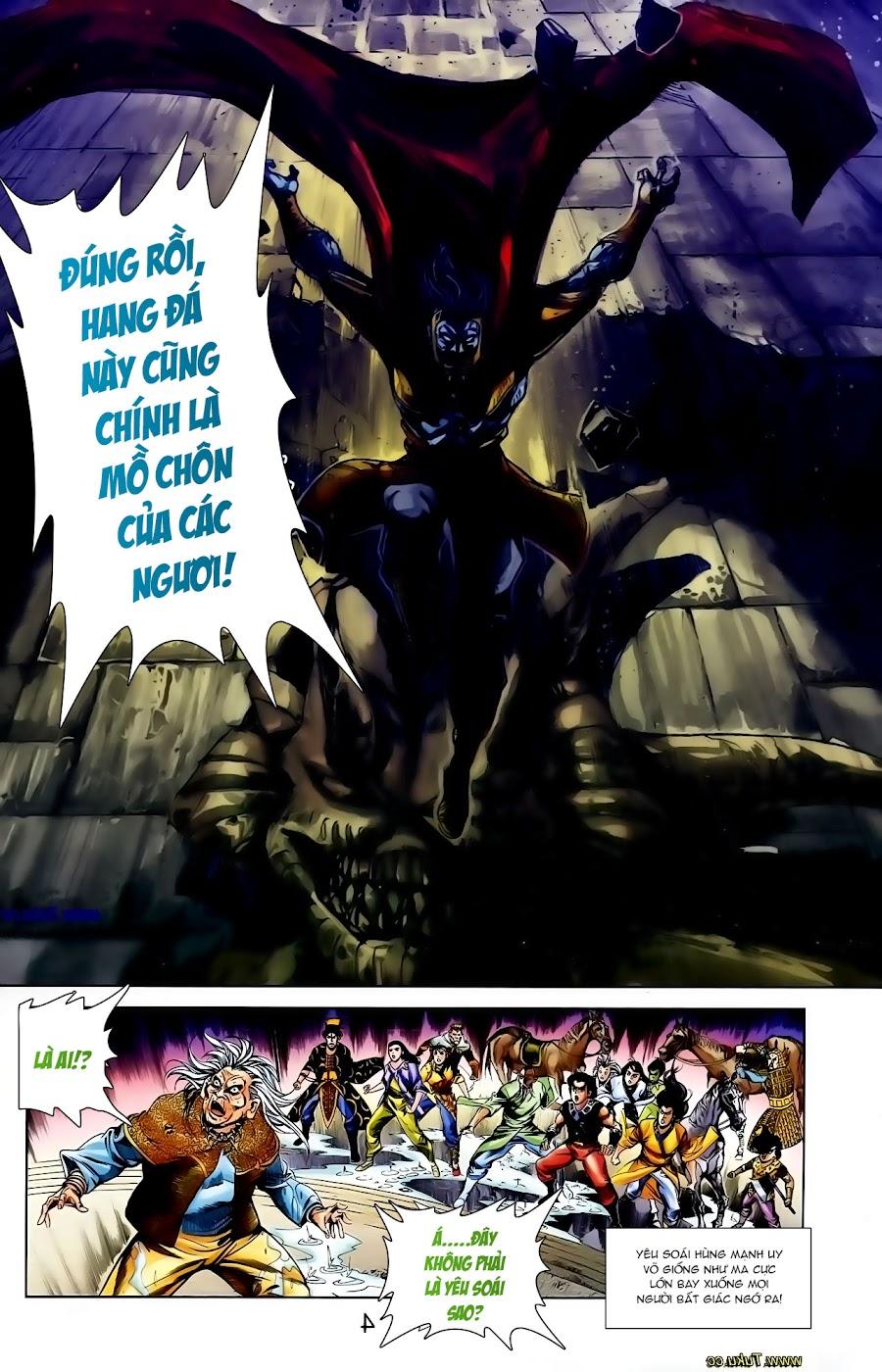 Cơ Phát Khai Chu Bản chapter 109 trang 4