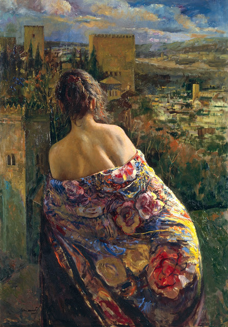 "Spanish Figurative painter- ""Joan Marti"" 1936-2009"