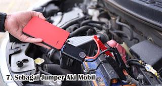 Manfaat Lain Powerbank Sebagai Jumper Aki Mobil