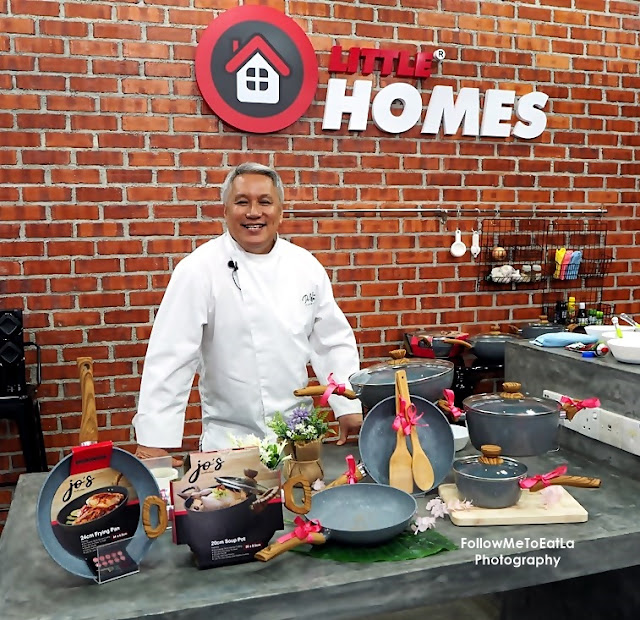 Little Homes Jo's Marble Cookware Soft Launch With Dato' Chef Wan