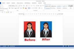Cara Mengganti Background Foto di Microsoft Word