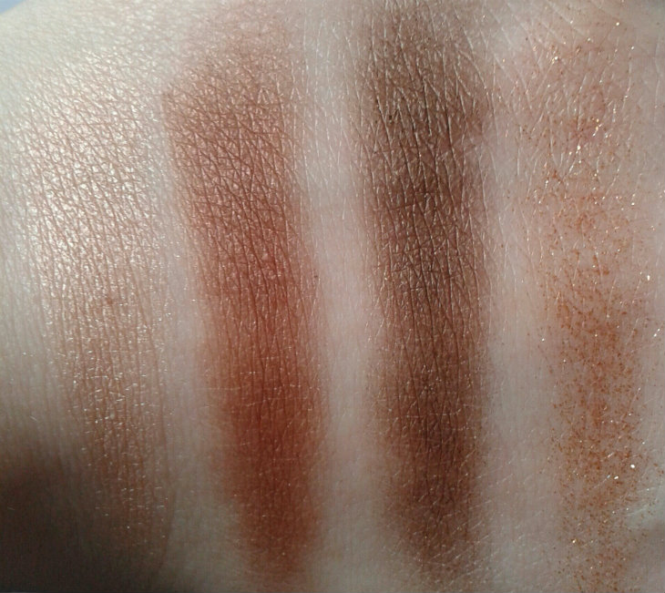 The Dolce Vita swatches