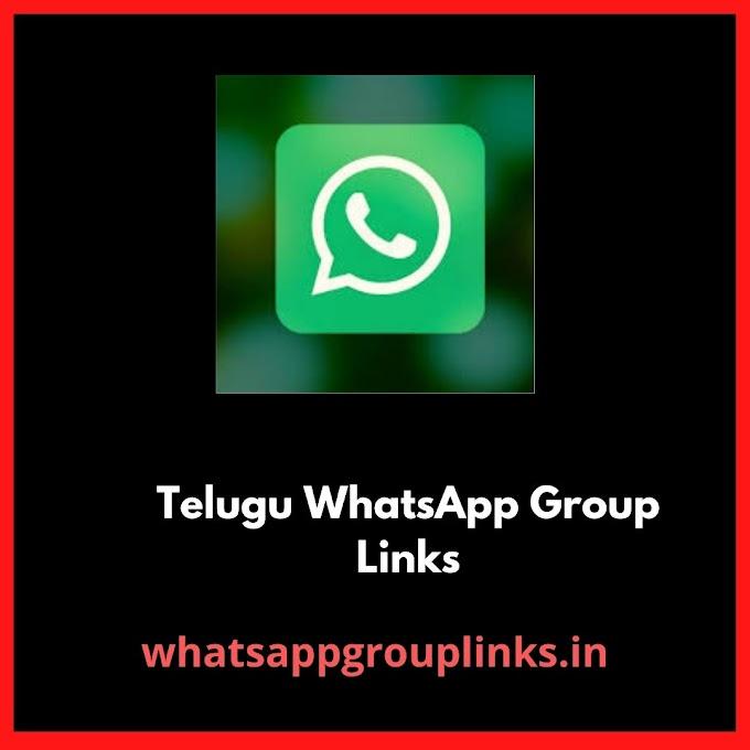 Join Telugu Whatsapp Group Links