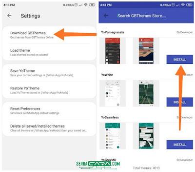 Cara Merubah Tampilan WA Dengan GBWhatsApp Mod