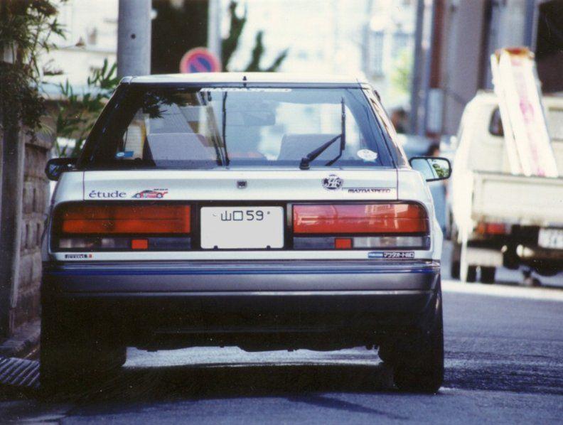 Mazda Etude, samochody JDM