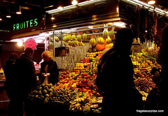 Barcelona, Mercado da Boqueria
