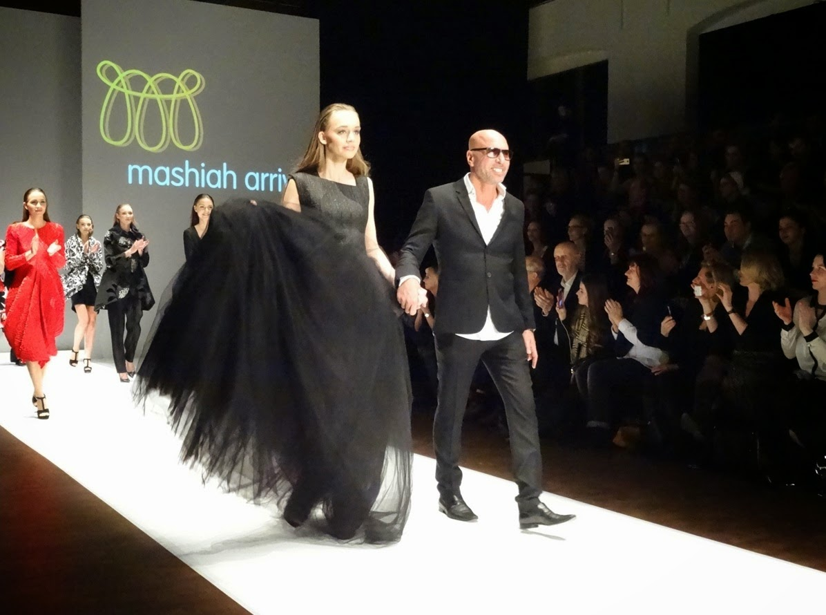 Fashion catwalk show in Potsdam