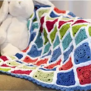 Manta de bebé a Crochet