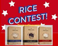 Logo Con Riso Brusa vinci gratis Kit composti da chili di Riso e accessori! Come partecipare