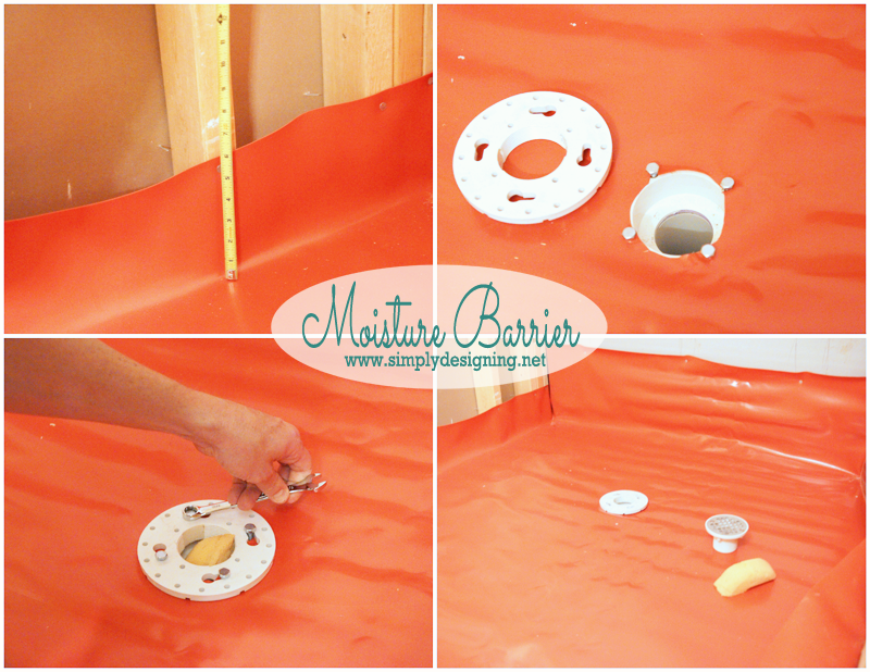 install shower liner how to create your own shower pan pin for next home