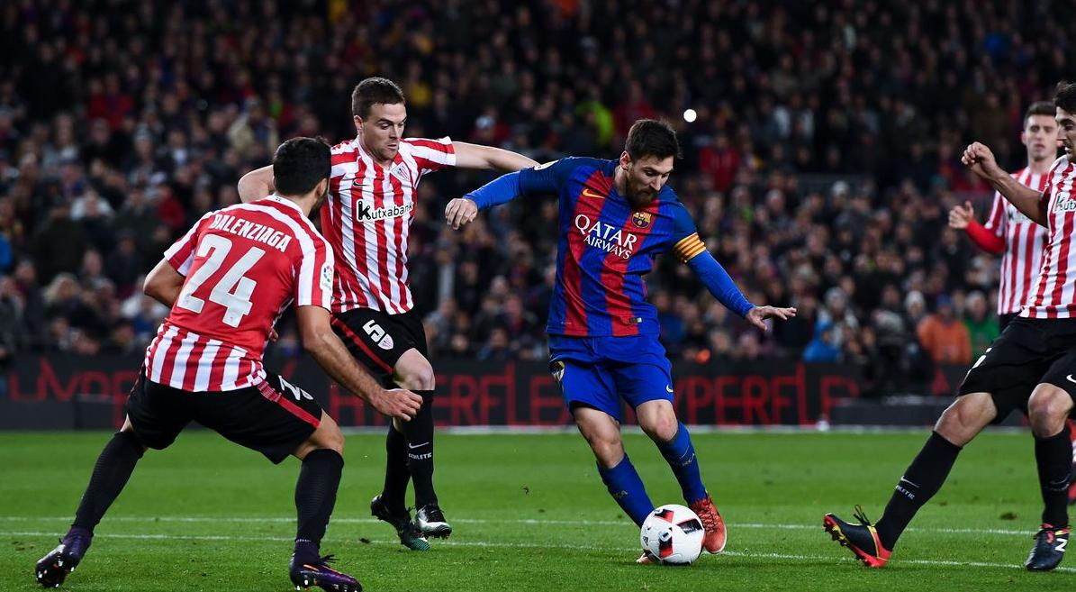 نتيجة مباراة برشلونة وأتلتيك بلباو بتاريخ 06-02-2020 كأس ملك إسبانيا
