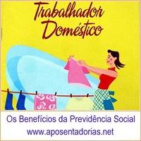 A contribuição ao INSS, do empregado doméstico, vence dia 7.