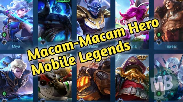 Perkenalan Dengan Berbagai Macam Hero di Mobile Legend - Masbasyir.Com