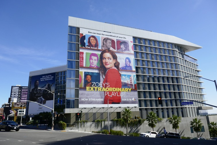 Zoeys Extraordinary Playlist series launch billboard