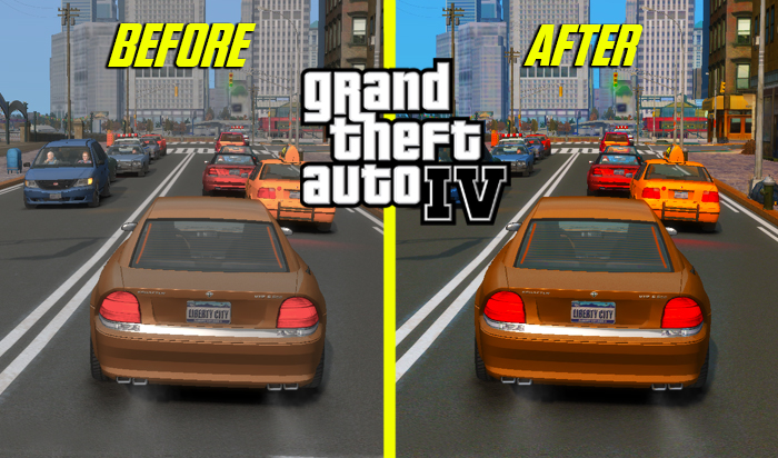 GTA IV Best Graphics Mod For Low End PC Download   GTA 4 Mod
