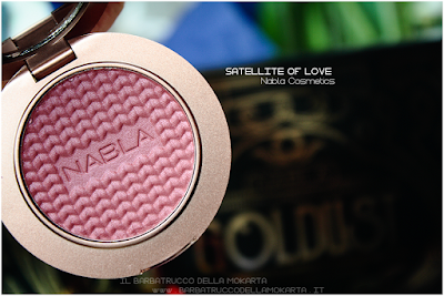 SATELLITE OF LOVE review Blush Blossom   goldust collection Nabla cosmetics pareri