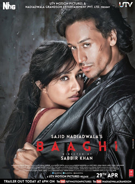 Baaghi (2016) | Official Poster | Tiger Shroff Shraddha Kapoor
