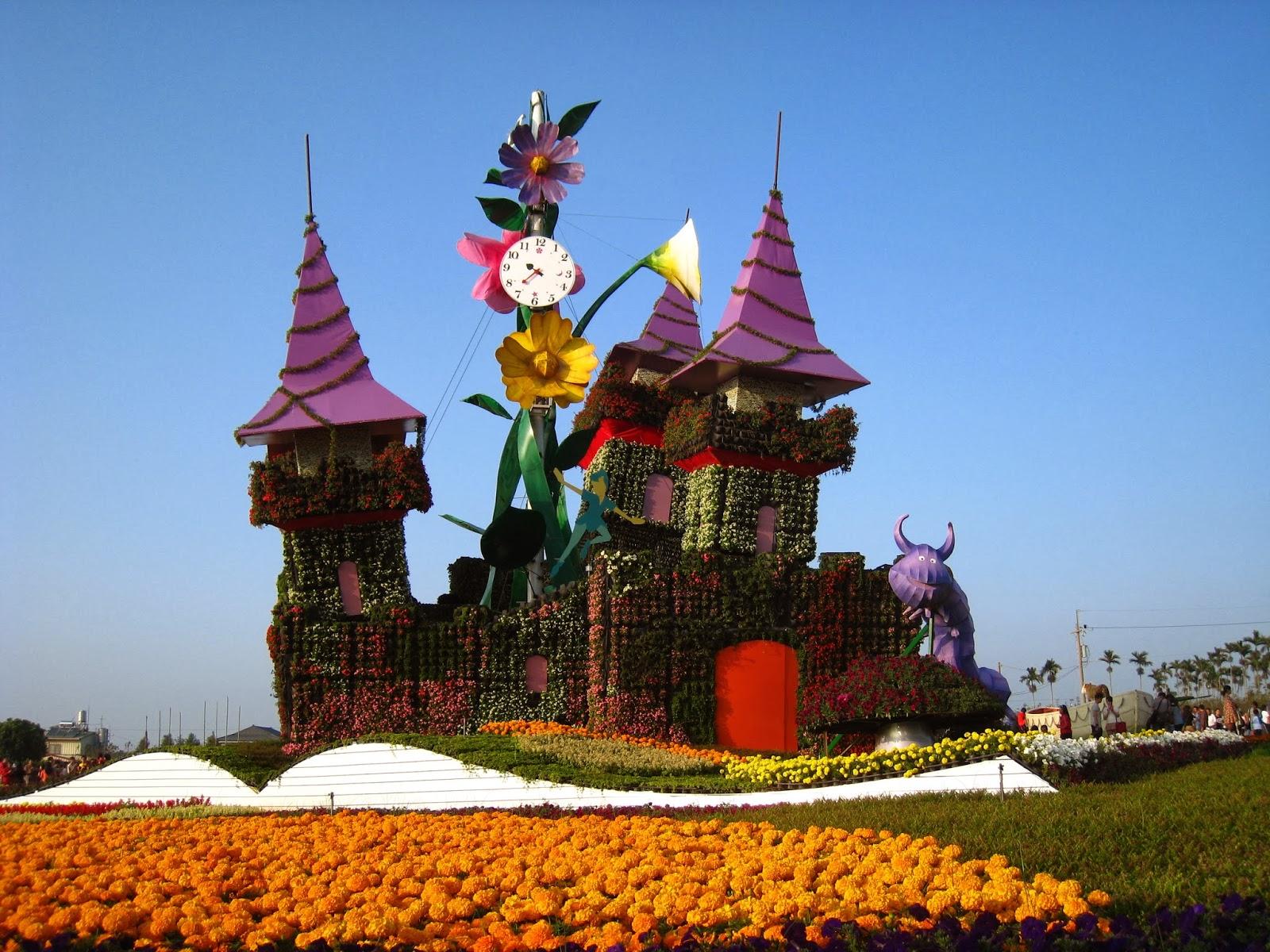 Paul's Trips 保羅嬉遊: 2013 新社花海 & 臺中國際花毯節 2013 Sea of Flower in Kinshe & Taichung International Flower Carpet Festival