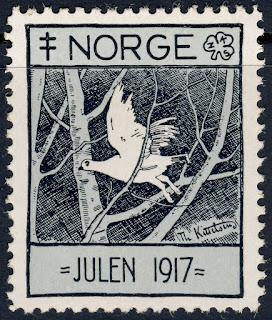 Norway . 1917 Christmas Seal  Kittelsen, Artist