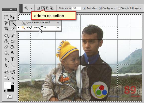 Cara membuat efek grid/kotak dengan photoshop | Tutorial89
