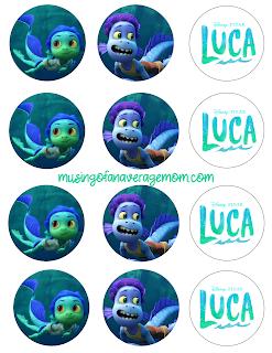 Disney Luca free birthday printables