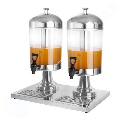 Bình nước buffet không tai 2 ngăn 16 lít AT90512-2