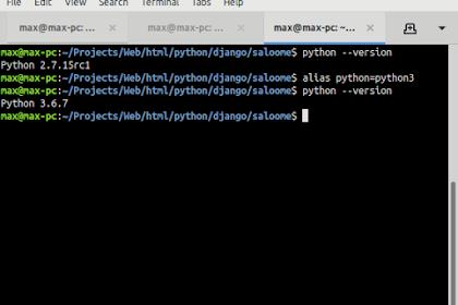 Cara Mengganti Python Versi 2 ke Python Versi 3