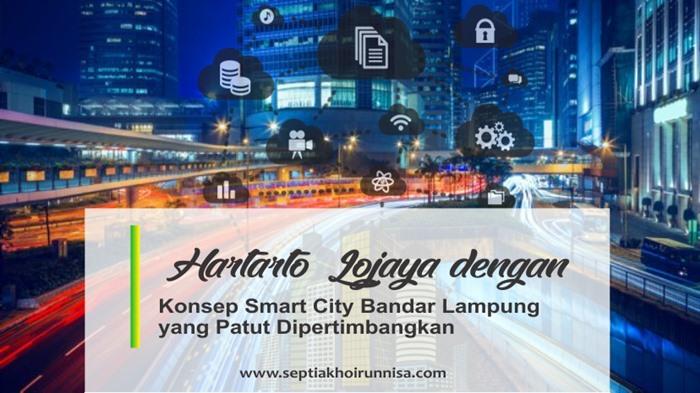 Smart City Bandar Lampung Gagasan Hartarto Lojaya