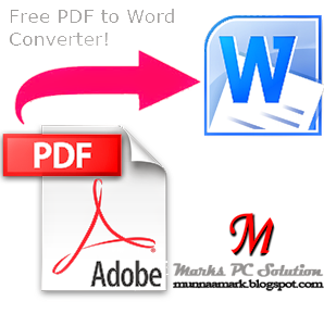 PDF to Word Converter Logo