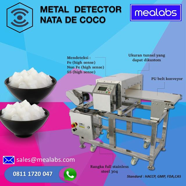 metal detector nata de coco