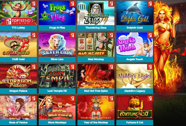 Bintang88 menyediakan permainan Slot Mesin Online Top Trend Gaming (TTG) & Kasino online terbaik 2020 dengan metode deposit pulsa tanpa potongan. Tersedia 133 permainan slot online terbaik yang memiliki banyak kesempatan menang dengan mendapatkan fitur terpicu & Jackpot Setiap harinya.