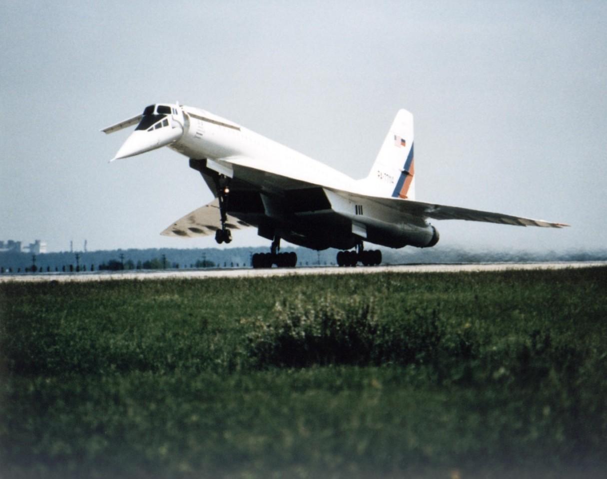 TU-144 Supersonik Soviet