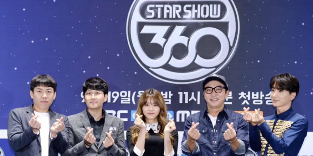 已完結韓綜節目 Star Show 360線上看
