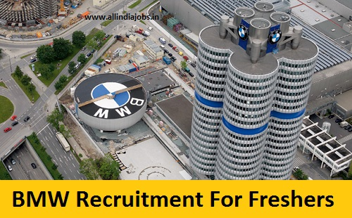 BMW Recruitment 2018-2019 Job Openings For Freshers
