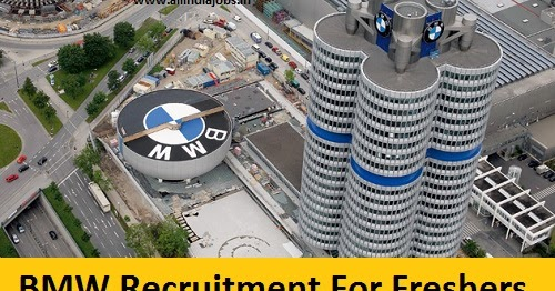 Bmw Recruitment 2017 2018 Job Openings For Freshers