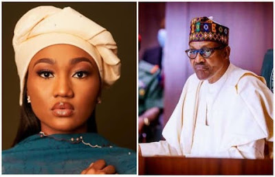 Hoarding palliatives in warehouses evidence my dad isn't Nigeria's problem — Buhari's daughter
