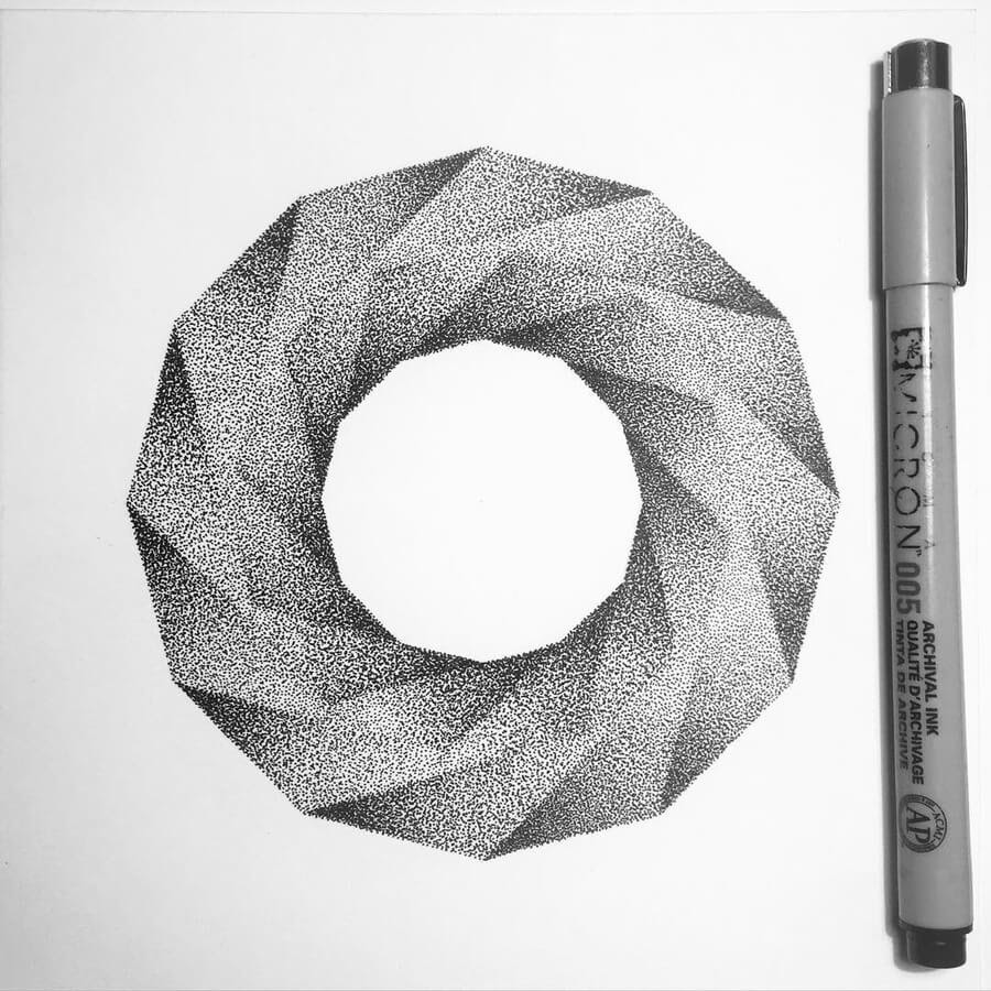 09-Dodécagone-Stippling-Drawings-Ilan-Piotelat-www-designstack-co