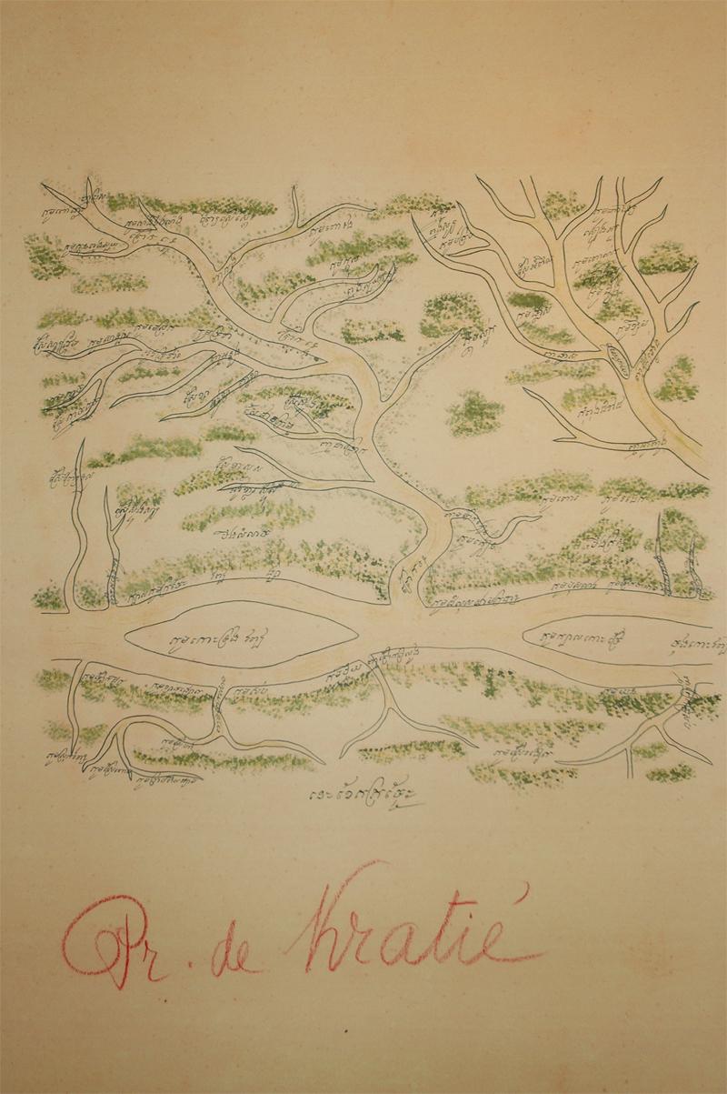 LTO Cambodia: Old Maps - Kampot