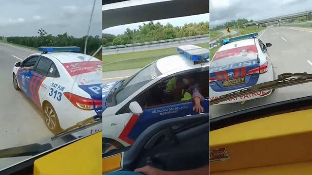 Viral PJR Hentikan Truk Tanpa Alasan di Tol Pasuruan, Perekam Diburu Polisi