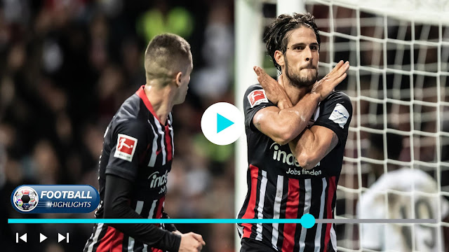 Fortuna Düsseldorf vs Eintracht Frankfurt – Highlights
