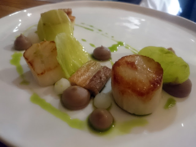 Scallops at Isaac At Brighton