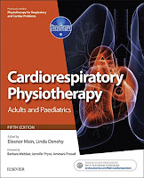 Cardiorespiratory physiotherapy book image