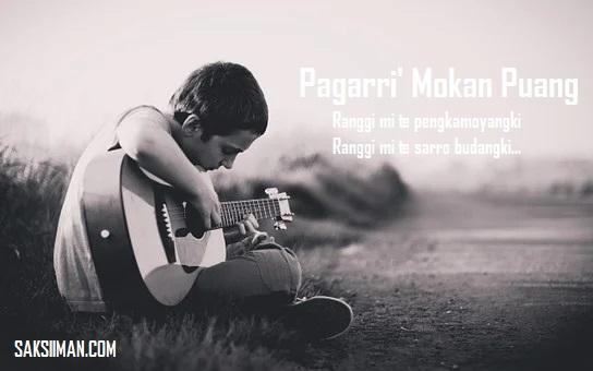 Lirik Lagu Pagarri' Mokan Puang - Eman BW Pa'labiran